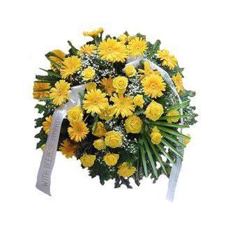 Vena od žutog cveća