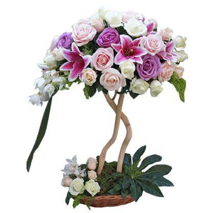 cvetni aranžman Drvo iz mašte