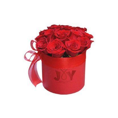 Dan u boji ljubavi - ruže u kutiji