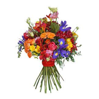 cveće i prijatelji buket
