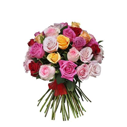 Romantično šarenilo ruža